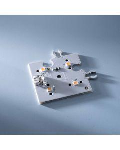 ConextMatrix Modulo Angolo Matrice 4 LED bianco caldo 4x4 cm 24V CRI 90 118lm 0.89W