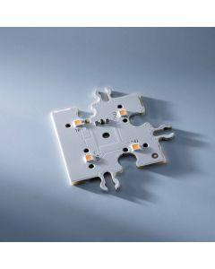 ConextMatrix Modulo Bordo 4 LED bianco caldo 4x4 cm 24V CRI 90 118lm 0.89W