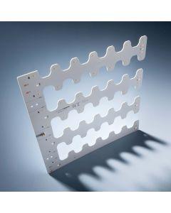 Modulo retroilluminazione Nichia BackMatrix 49 28x28cm 70 LED 24V 180 gradi Bianco 2700K 10.9W 1150lm 10.9W