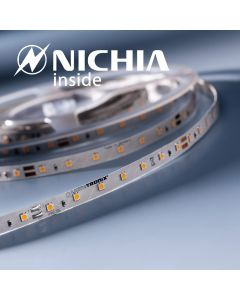 LumiFlex 35 Nichia Striscia LED bianco caldo 2700K 1220lm 24V 70 LED/m prezzo per 50cm (1220lm/m 9.6W/m)