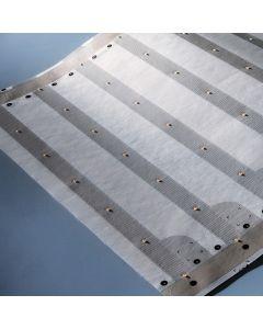 Paper-Flex Osram Striscia LED max 24.85m bianco caldo 2700K 24V 1100lm/m 140 LEDs/m 24V 35cm (prezzo per UNA TRAVE 5x35cm & 7 LEDs)