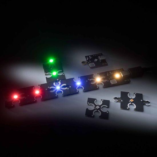 ConextPlay Modulo maschio bianco caldo 1 LED 2.5x2.5cm 5V 10lm 0.1W