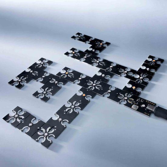 ConextPlay Modulo maschio blu 1 LED 2.5x2.5cm 5V 2lm 0.1W