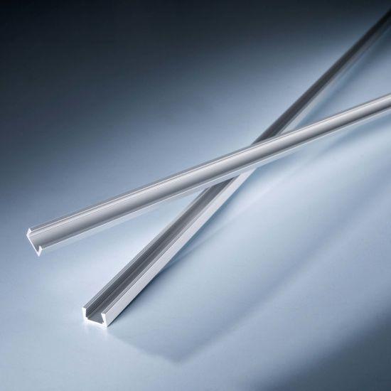 Profilo in alluminio AluSim flat per strisce LED flessibili Slimflex 102cm