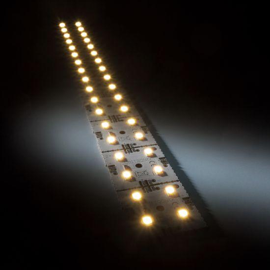 Modulo retroilluminazione Nichia Matrix Mini 9 segmenti (9x1) 36 LED 24V Bianco 2700K 4.3W 615lm