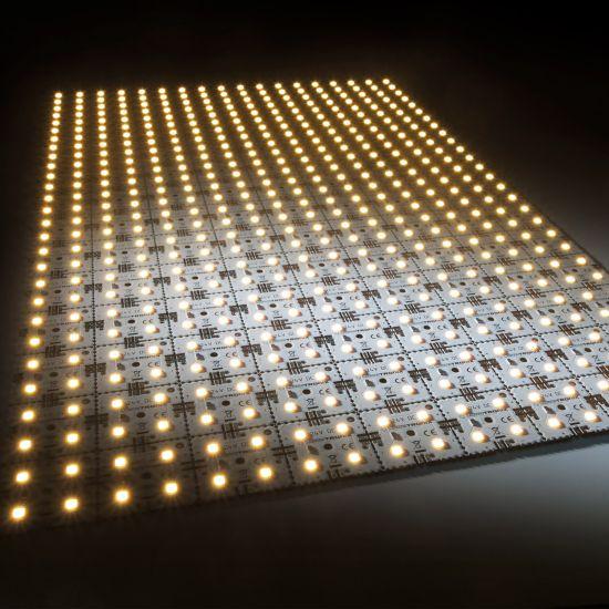 Modulo retroilluminazione Nichia Matrix Mini 126 segmenti (9x14) 504 LED 24V Bianco 2700K 60.5W 8610lm