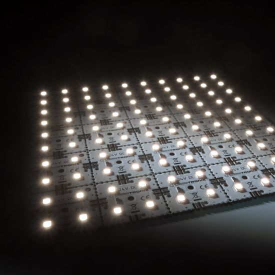 Nichia LED retroilluminazione Modulo Matrix Mini 25 segmenti (5x5) 100 LED 24V Bianco 4000K 4000K 12W 1885lm