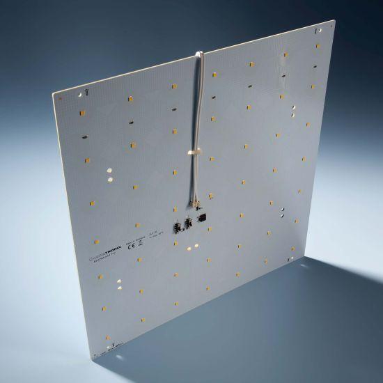 Modulo retroilluminazione Nichia BackMatrix 49 Pro 29x29cm 70 LED 24V 120 gradi Bianco 3000K 16.8W 2090lm