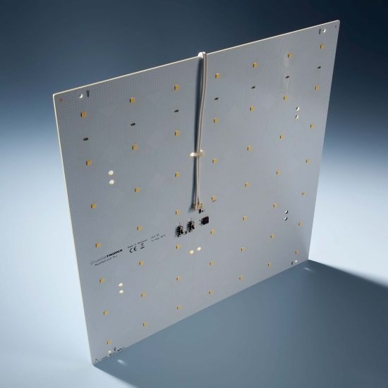 Modulo retroilluminazione Nichia BackMatrix 49 Pro 29x29cm 70 LED 24V 120 gradi Bianco 4000K 16.8W 2180lm