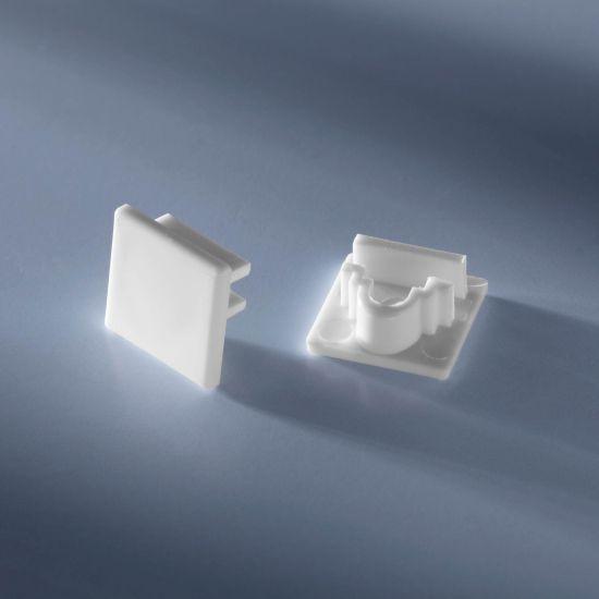 Tappo terminale chiuso per profilo in alluminio Alubar Alubar per strisce LED 50cm