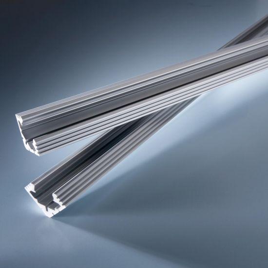 Profilo in alluminio Angolo Aluflex per strisce LED flessibili 102cm