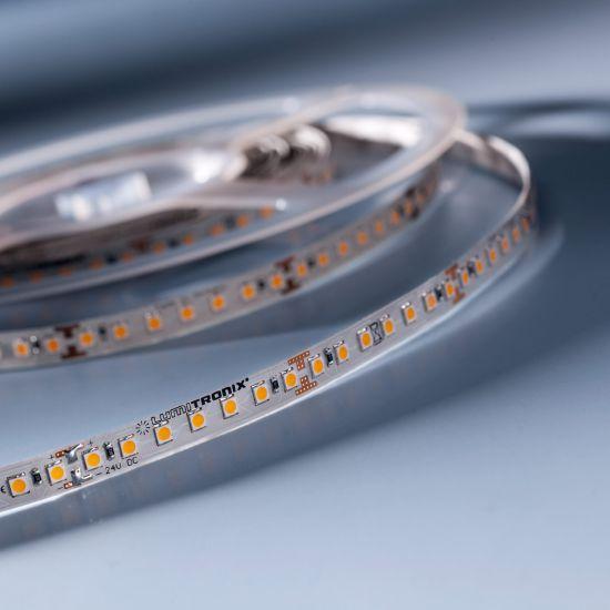 LumiFlex 70 Nichia Striscia LED bianco caldo 2700K 2440lm 24V 140 LED/m prezzo per 50cm (2440lm/m 19.2W/m)