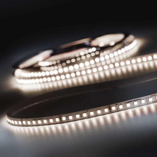 LumiFlex 700 Pro Nichia Striscia LED bianco neutro CRI90 4000K 12150lm 24V 140 LED/m 5m bobina (2430lm/m 19.2W/m)