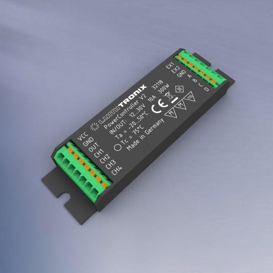 Unità di controllo della luce PowerController V2 1- 4 canali di controllo per Tunable White, RGBW o monocolore