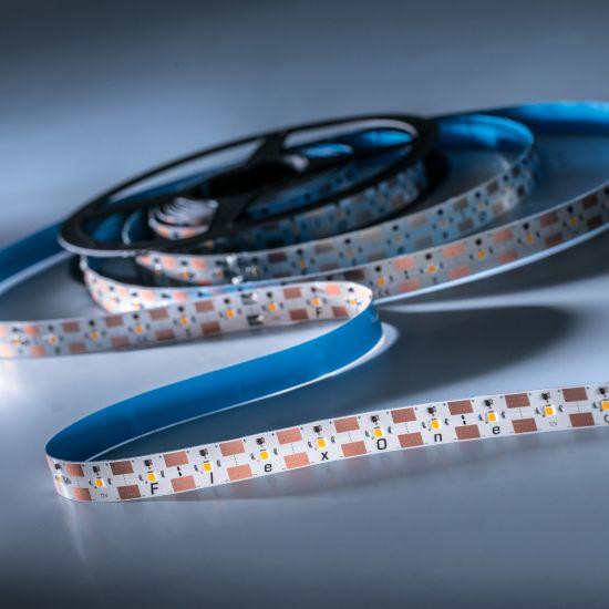 FlexOne 250 Samsung Striscia LED bianco caldo 2700K 11825lm 12V 50 LED/m 5m bobina (2365lm/m 30W/m)