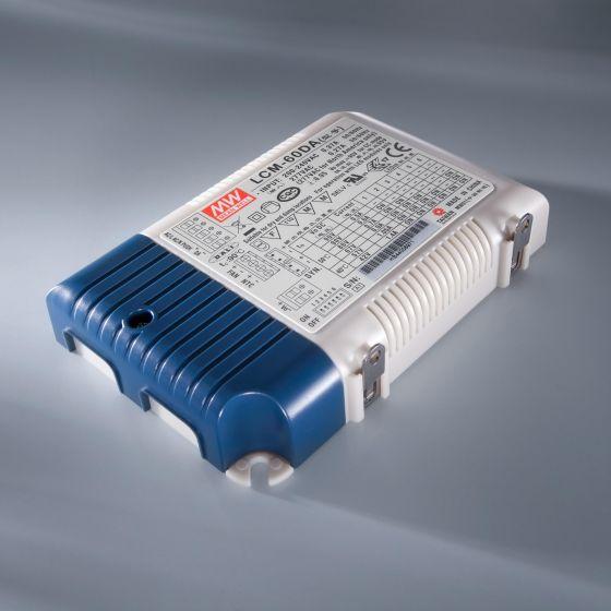 Driver LED a corrente costante MEAN WELL LCM-60 230V la 2-90V 500 > 1400mA DIM DALI