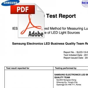 Test di durata di Samsung: 10.000 ore