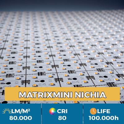 Modulo professionale MiniMatrix LED Nichia, fino a 80.000 lm/metro quadro