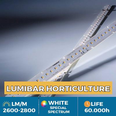 Strisce LED Nichia Rsp0A professionali per la crescita delle piante (orticoltura), potenza luminosa fino a 2900 lm/m