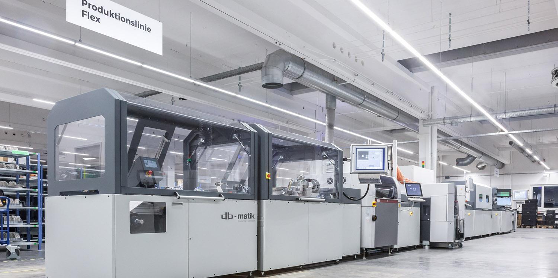 La nuova linea di produzione Flex in Germania