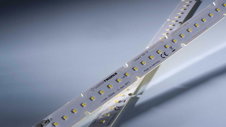 Nichia 757 Optisolis strisce LED: LinearZ con CRI98 + e potenza luminosa fino a 2600 lm / m