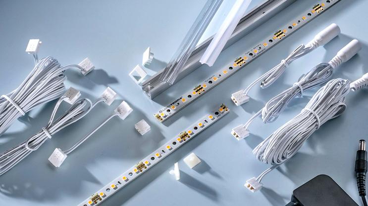 Nichia 757 strisce LED: Mutlibar con installazione Plug & Play senza saldatore