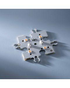 ConextMatrix Modulo Centrale Modulo 4 LED bianco caldo 4x4 cm 24V CRI 90 118lm 0.89W