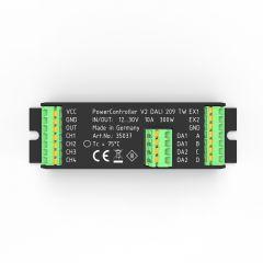 Unità di controllo della luce PowerController V2 Bianco regolabile via DALI 209 a 2 uscite a 10-30VDC max. 300W