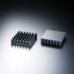Dissipatore di calore quadrato 23x23mm per un LED ad alta potenza max. 1 Watt