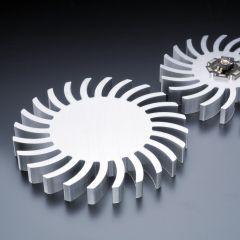 Dissipatore di calore stile Swing 85mm per LED ad alta potenza max. 5 Watt