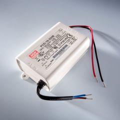 Driver LED a corrente costante MEAN WELL PCD-40-1050B IP30 700mA da 230V a 34 > 57VDC DIM