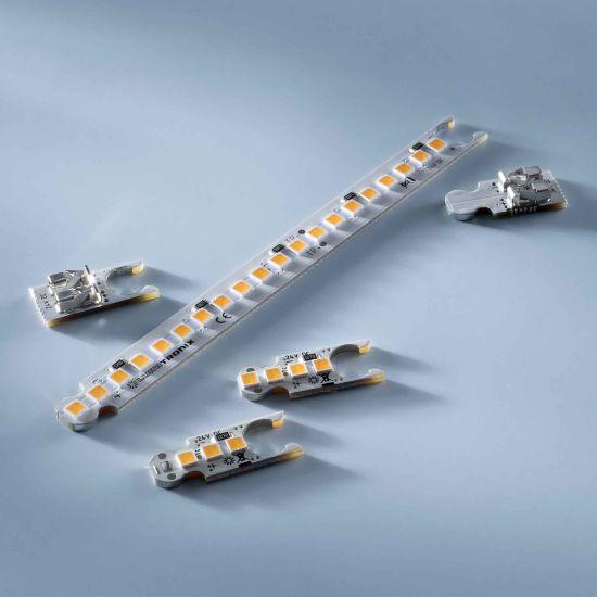 ConextBar 4 Striscia LED bianco caldo CRI90 2700K 64lm 24V 4 LED modulo 207cm