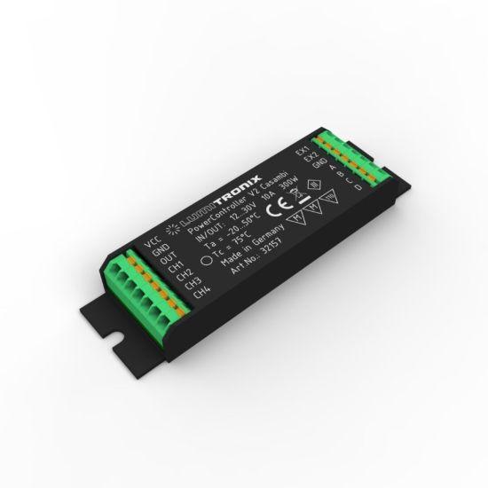 Unità di controllo della luce PowerController V2 regolabile bianco e RGBW via Casambi App per IOS e Android, 300W 10-30VDC