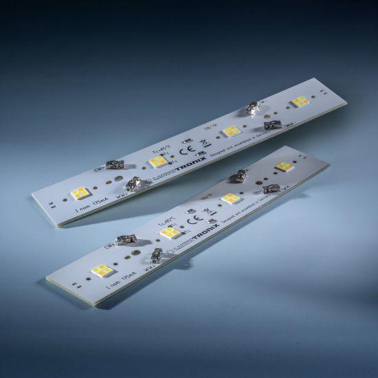 Daisy 16 Nichia Striscia LED Tunable Bianco 2700-4000K 360+340lm 175mA 11.5V 14 LEDs 16cm modulo (fino a 4375lm/m e 25W/m)