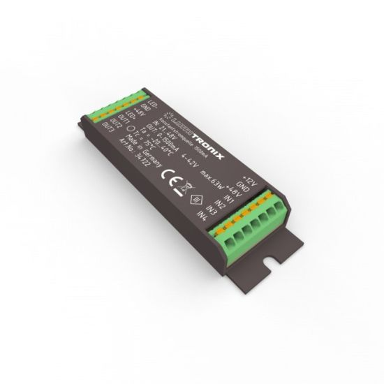 Driver LED a corrente constante LUMITRONIX 21-48V a 1>1500mA 4-42V DIM per il PowerController V2