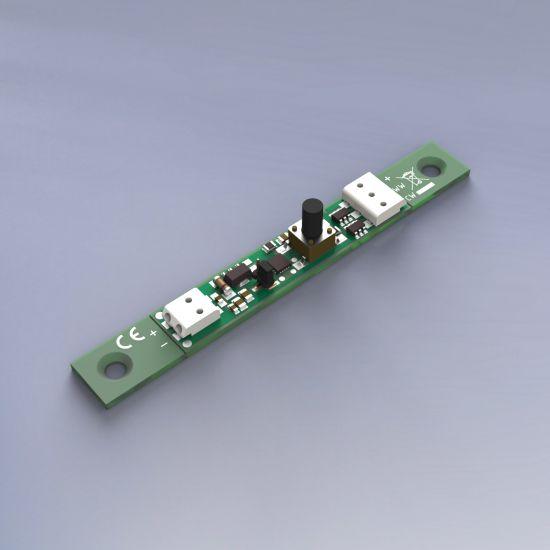 Mini unità di controllo di potenza regolabile bianco mini dimmeraggio e modalità speciale