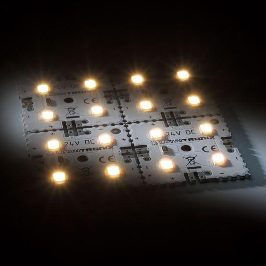 Nichia Modulo retroilluminazione Matrix Mini 4 segmenti (2x2) 16 LED 24V Bianco 2700K 1.92W 274lm