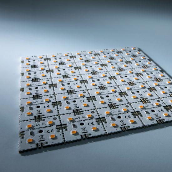 Modulo retroilluminazione Nichia Matrix Mini 25 segmenti (5x5) 100 LED 24V Bianco 2700K 12W 1700lm
