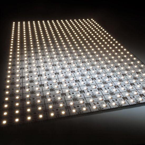 Modulo retroilluminazione Nichia Matrix Mini 126 segmenti (9x14) 504 LED 24V Bianco 3500K 60.5W 9175m