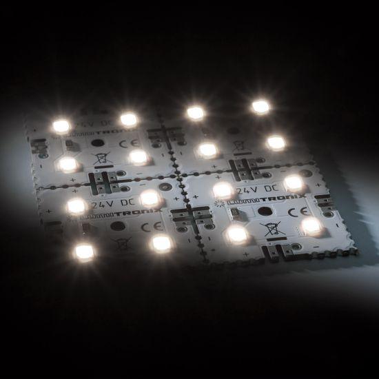 Nichia Modulo retroilluminazione Matrix Mini 4 segmenti (2x2) 16 LED 24V Bianco 4000K 1.92W 300lm