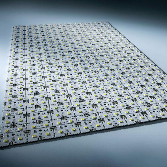 Modulo retroilluminazione Nichia Matrix Mini 126 segmenti (9x14) 504 LED 24V Bianco 6500K 60.5W 9840lm