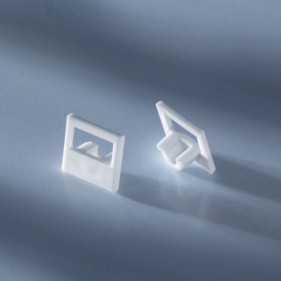 Tappo terminale aperto per profilo in alluminio Alubar per strisce LED 50cm