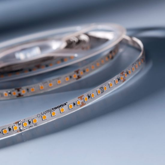 LumiFlex 70 Nichia Striscia LED bianco neutro 4000K 2656lm 24V 140 LED/m prezzo per 50cm (2656lm/m 19.2W/m)