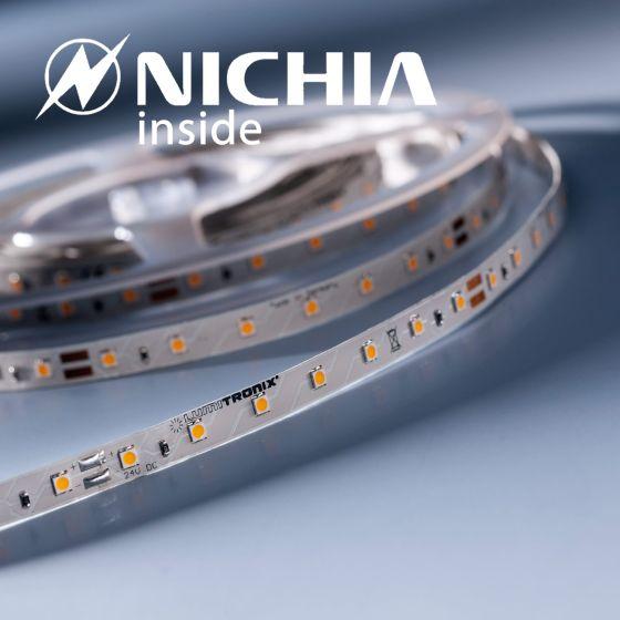 LumiFlex 35 Nichia Striscia LED bianco neutro 4000K 1328lm 24V 70 LED/m prezzo per 50cm (1328lm/m 9.6W/m)
