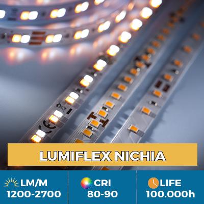 Nichia LED Strips professionali, fino a 2700 lm / m, 5 anni di garanzia