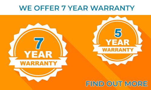 Offriamo fino a 7 anni di garanzia per le nostre strisce e moduli LED.