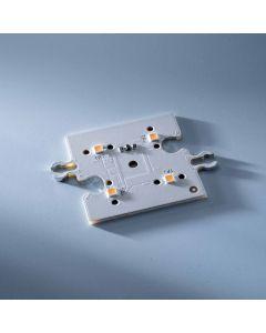 ConextMatrix Modulo lineare 4 LED bianco caldo 118lm 4x4 cm 24V CRI 90 118lm 0.89W