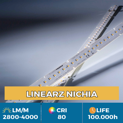 Moduli LED LinearZ Professional LinearZ, Plug & Play Zhaga, flusso luminoso fino a 4100 lm / m