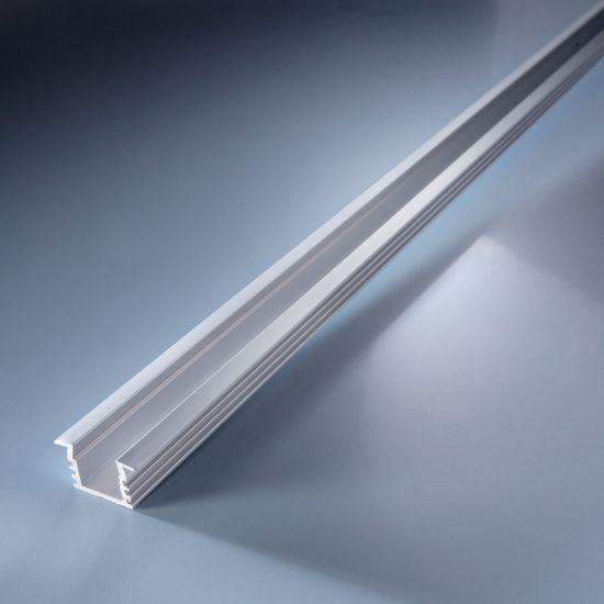 Profilo in alluminio Aluflex profondo per strisce LED flessibili 102cm
