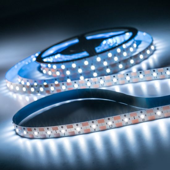 FlexOne 250 Samsung Striscia LED bianco freddo 6500K 12875lm 12V 50 LED/m 5m bobina (2575lm/m 30W/m)